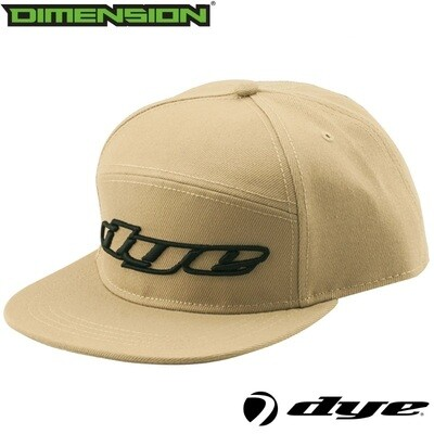 Dye Snap Back Hat Logo - Tan