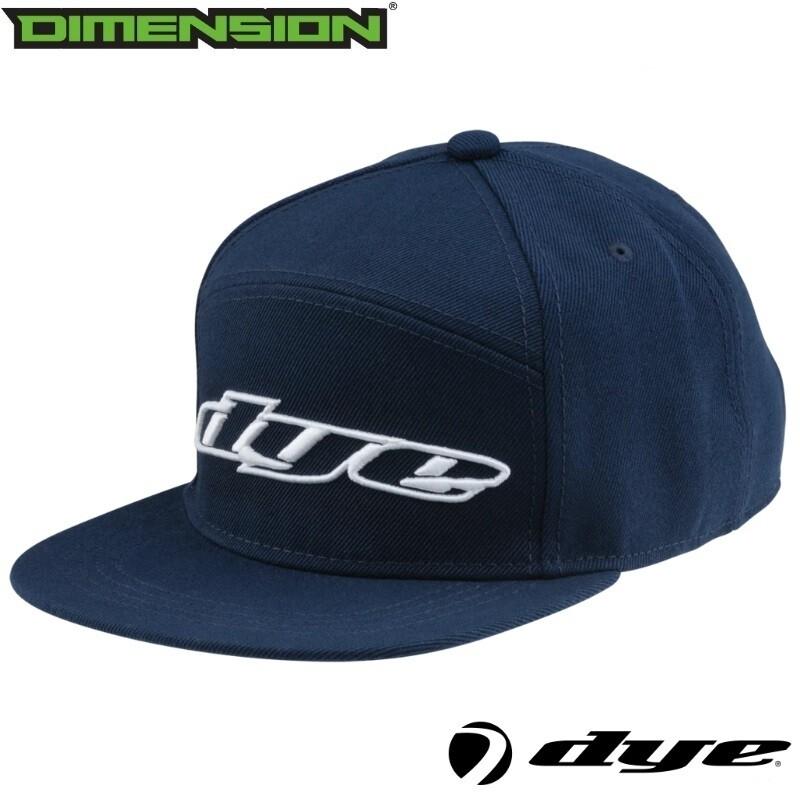 Dye Snap Back Hat Logo - Navy