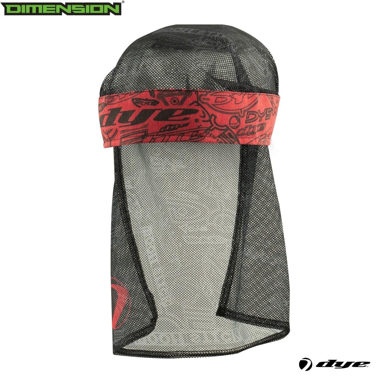 Dye Head Wrap - Logoflaug- Red/Gray