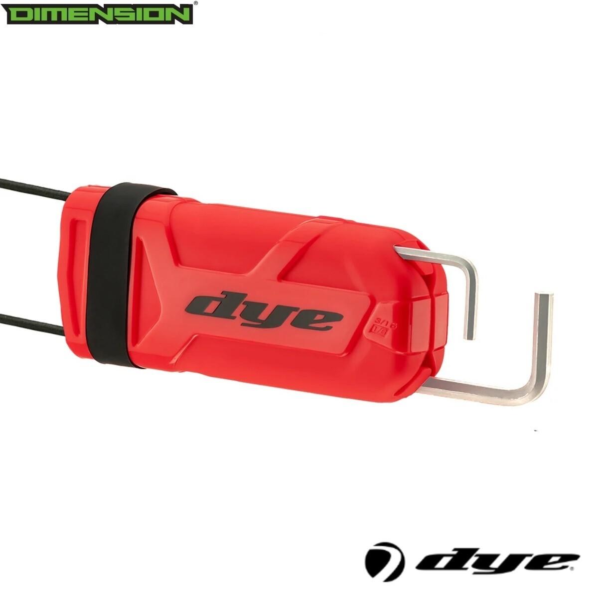 Dye Flex Barrel Cover - Red