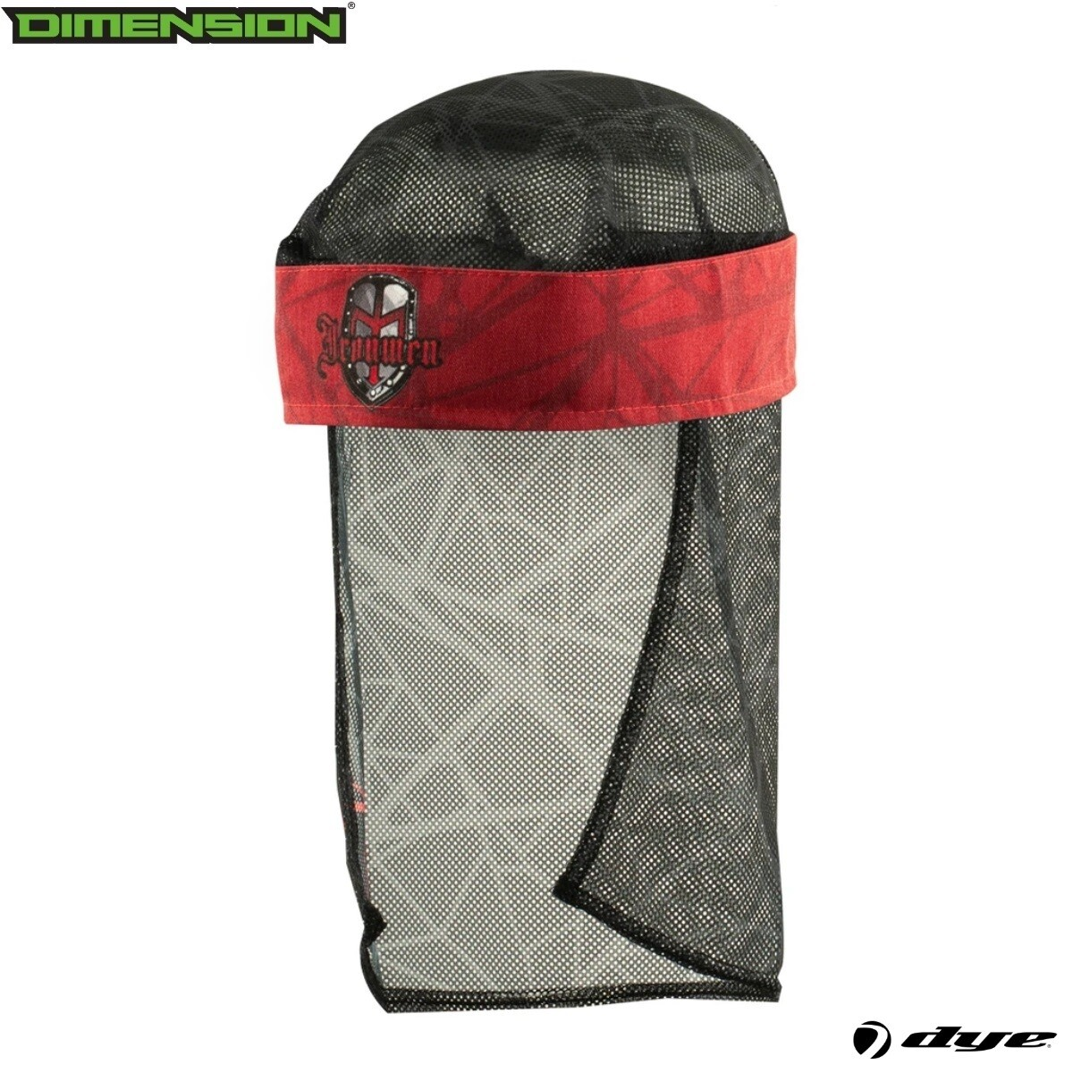 Dye Head Wrap - Ironmen UL - Red/Black