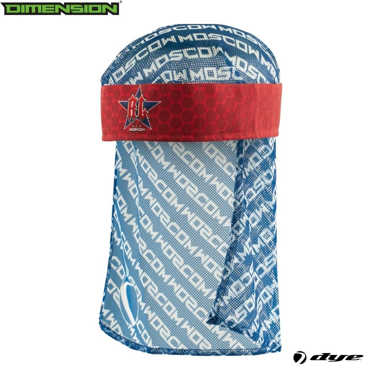 Dye Head Wrap - Russian Legion Red/Blue/White