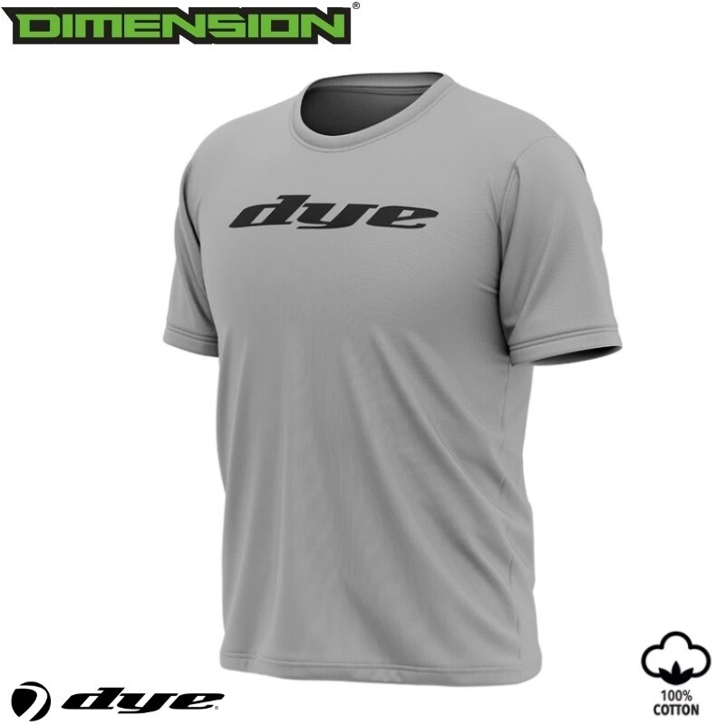 Dye T-Shirt Logo - Grey - M