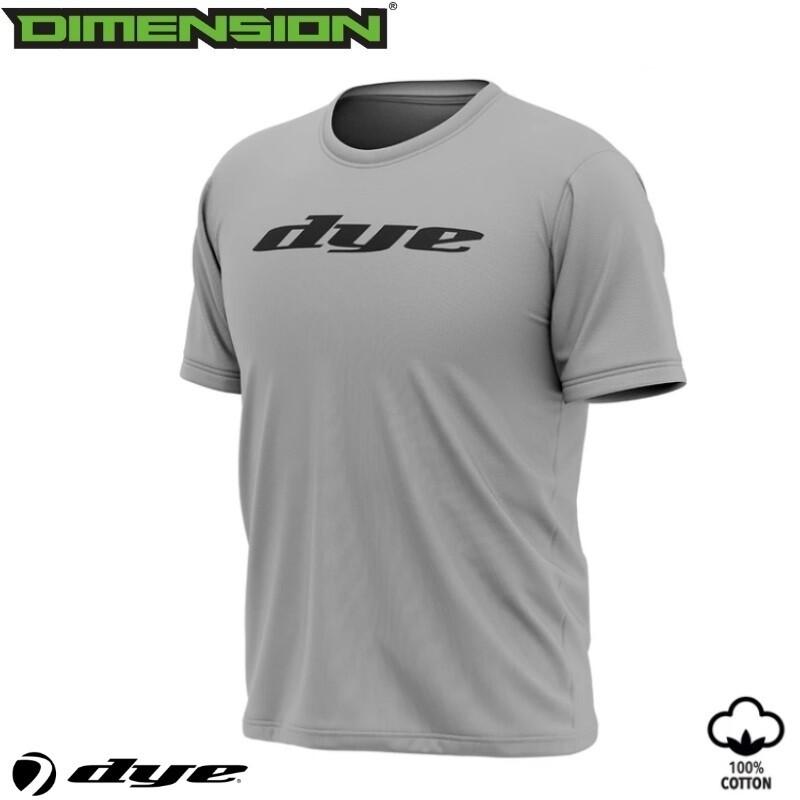 Dye T-Shirt Logo - Grey - XL