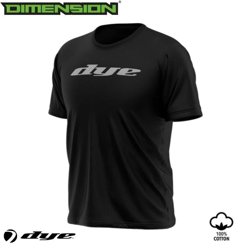 Dye T-Shirt Logo - Black - L