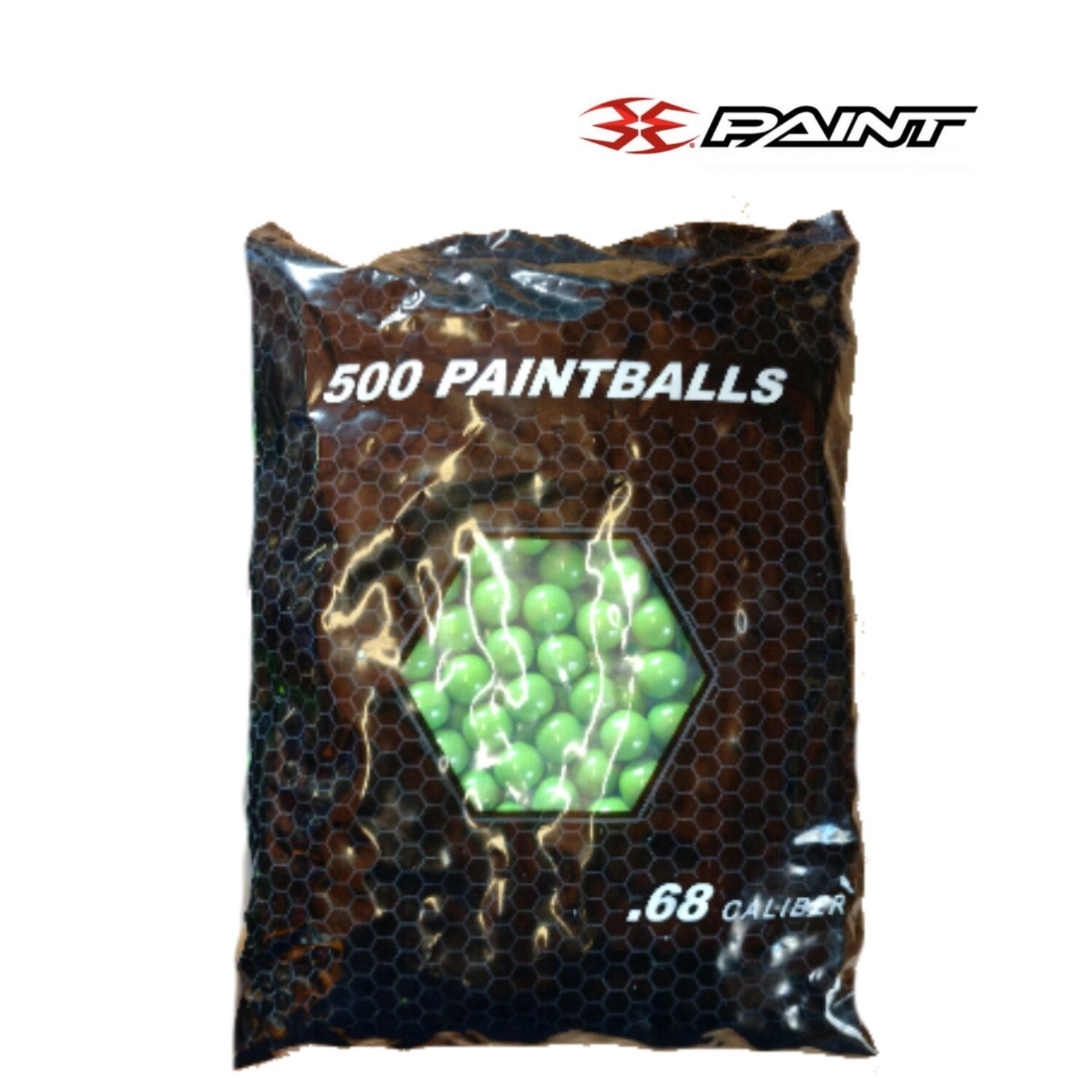 Empire Heat Paintballs - 500 Rounds - .68 caliber - Color May Vary