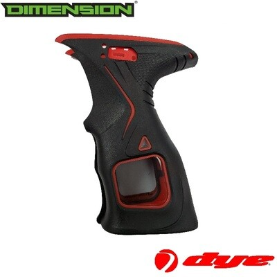 Dye M2, M2 MOSAir, M3s, M3+ - Grip - Black/Red