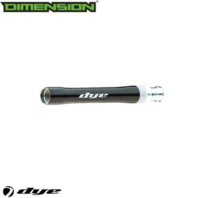 Dye Carbon Fiber-S Boomstick Barrel Back - AC Thread - .684