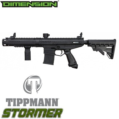 Tippmann Stormer Elite Dual Fed Marker - Black