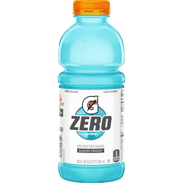 Gatorade Zero Glacier Freeze 20oz