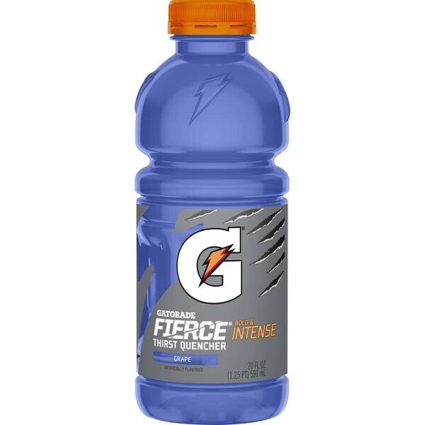 Gatorade Fierce Grape 20oz