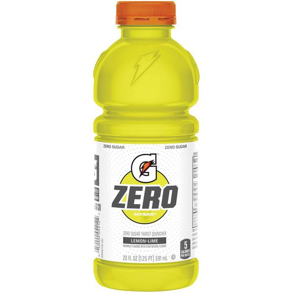Gatorade Zero Lemon Lime 20oz