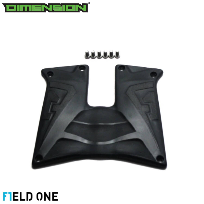 Field One Rubber Grip Panels - Black/Black