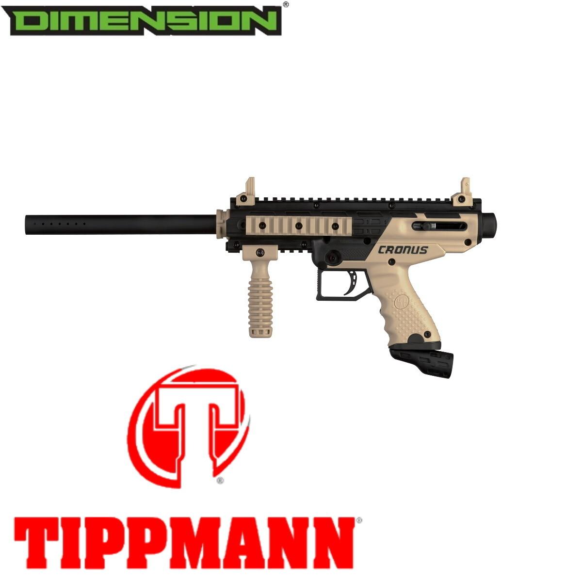 Tippmann Cronus Basic .68 Cal Marker - Black / Tan
