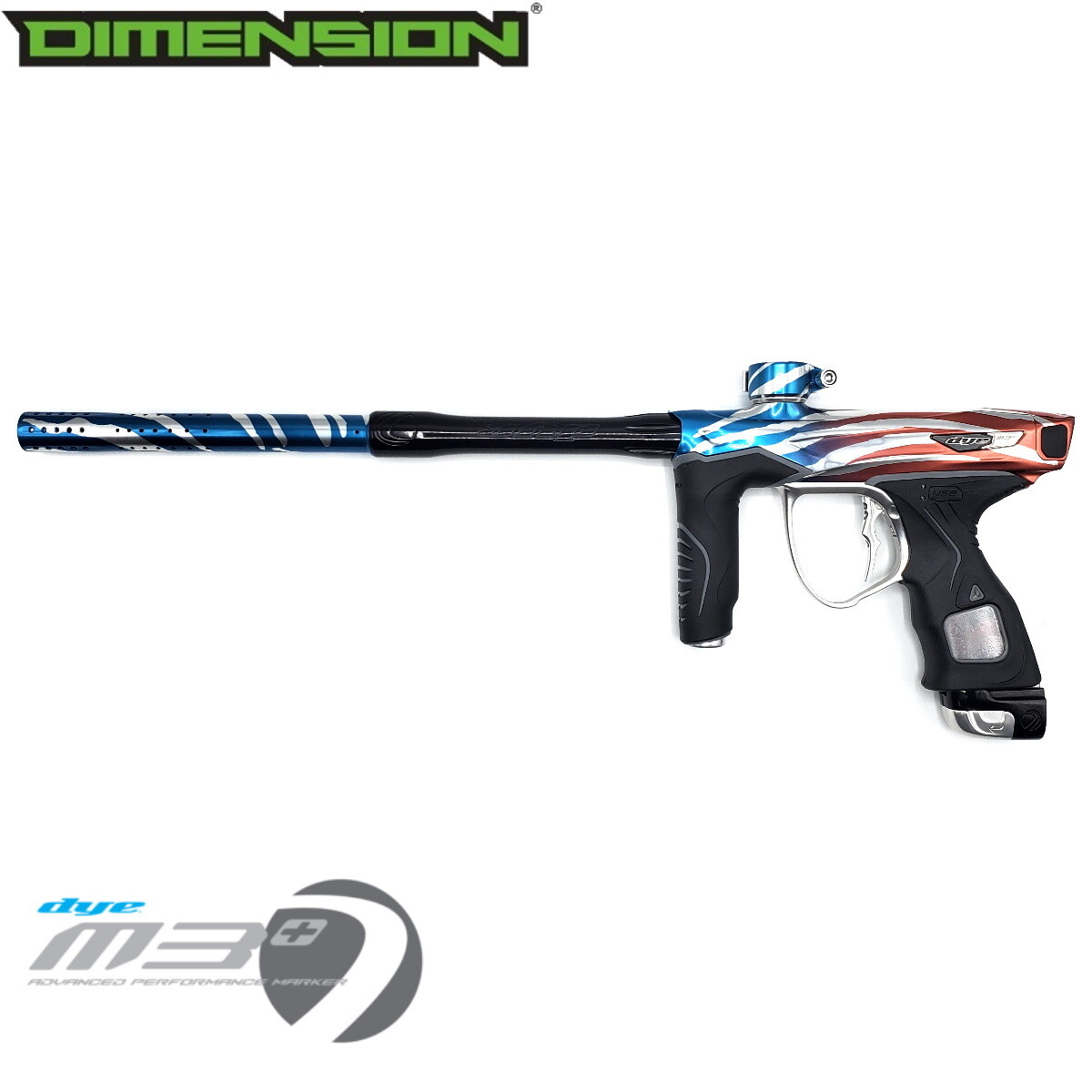 Dye M3+ - Dimension Limited Edition 1 of 1 / Tiger Royalty - Old Glory