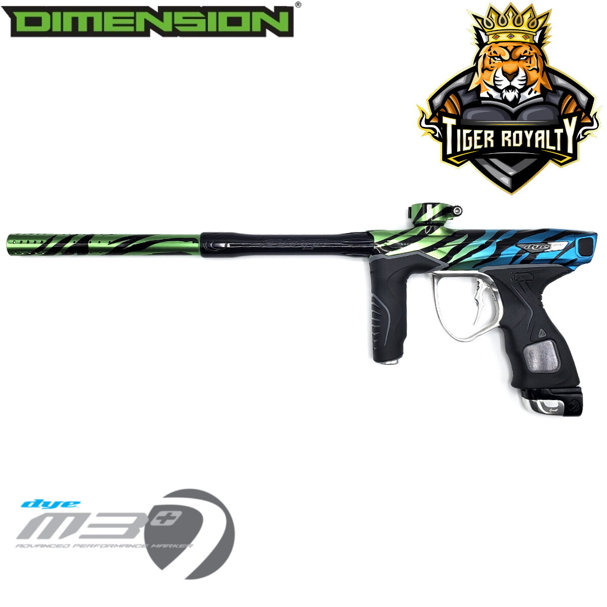 Dye M3+ - Dimension Limited Edition 1 of 1 / Tiger Royalty - Monster