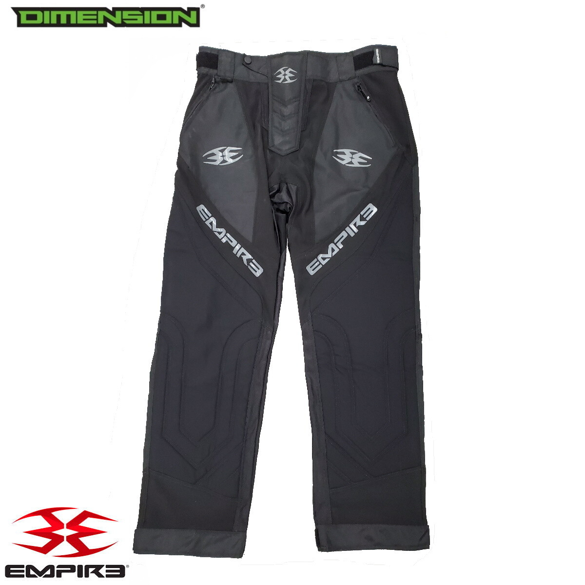 Empire Pants - Black - XL