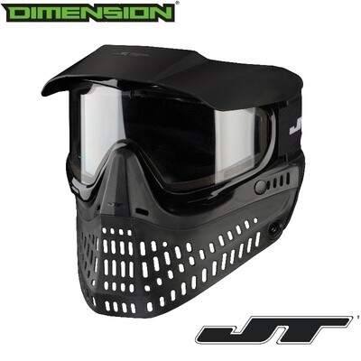 JT Spectra Proflex Thermal Goggle - Black - Thermal Clear Lens