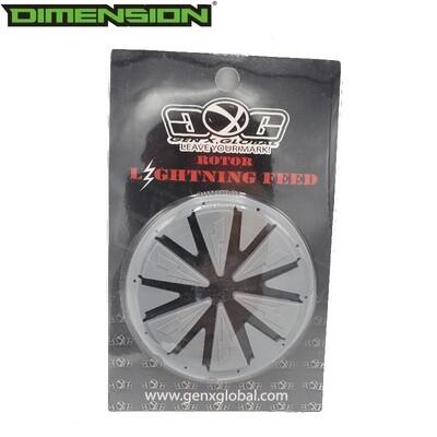 Gen X Global Lightning Rotor Speed Feed - Grey