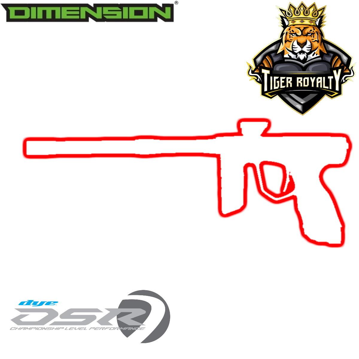 Dye DSR - Dimension Limited Edition 1 of 1 / Tiger Royalty - Buckeye