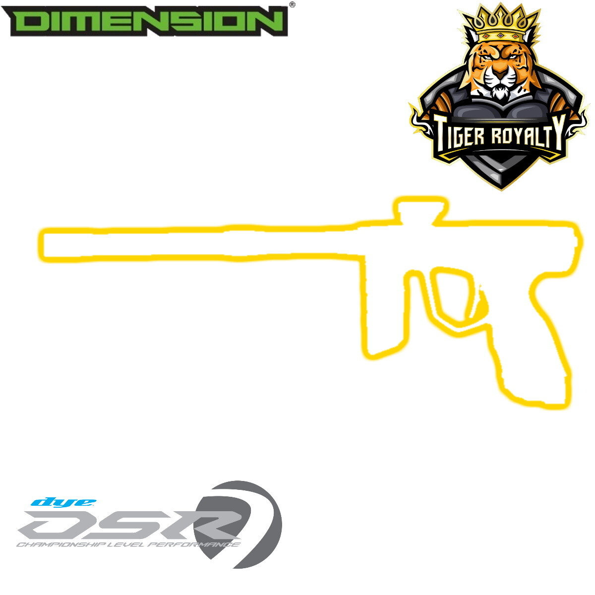 Dye DSR - Dimension Limited Edition 1 of 1 / Tiger Royalty - City of Steel