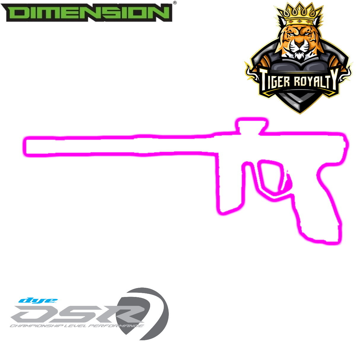 Dye DSR - Dimension Limited Edition 1 of 1 / Tiger Royalty - Electra