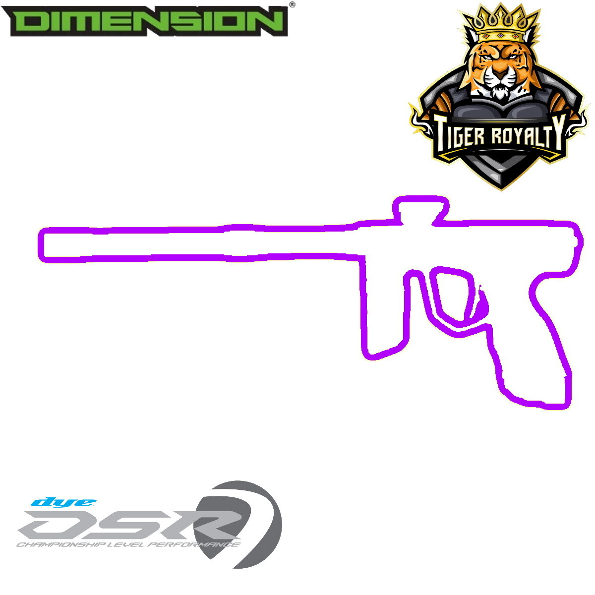 Dye DSR - Dimension Limited Edition 1 of 1 / Tiger Royalty - Reaper