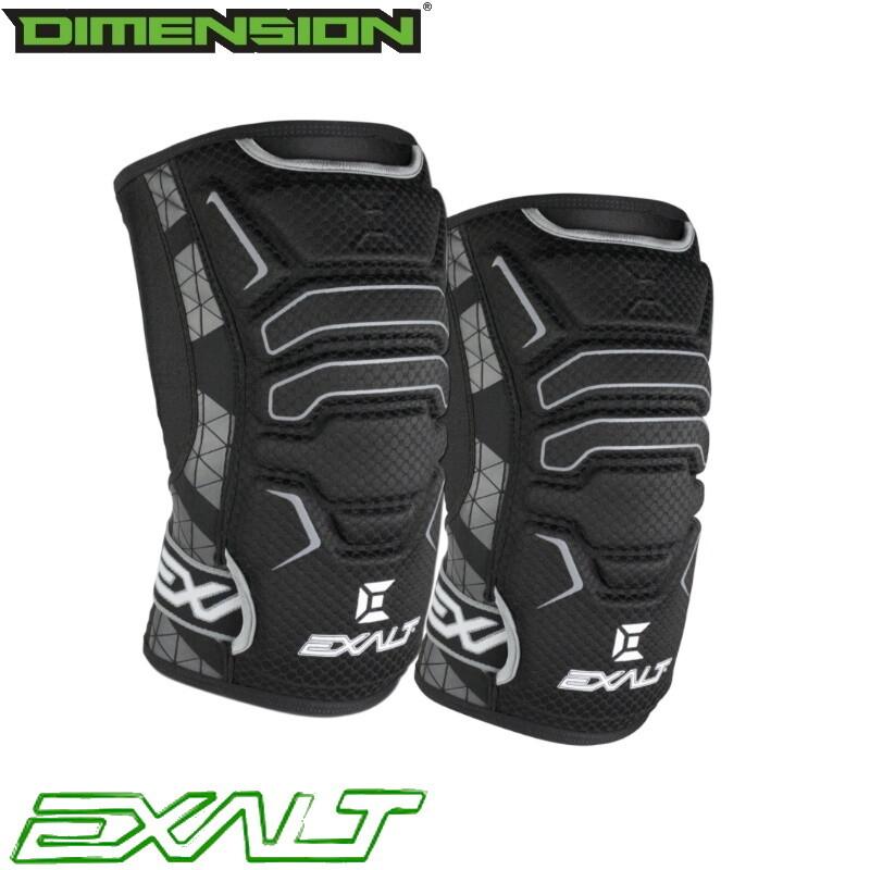 Exalt FreeFlex Knee Pads - Black - XL
