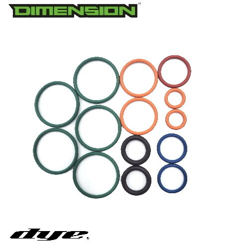 Dye DM13 Repair Bolt rebuild kit ( Factory Replacement Part ) - Paintball