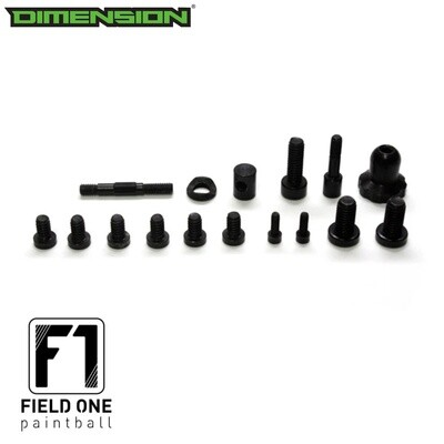Field One - Force - Black Out Screw Kit