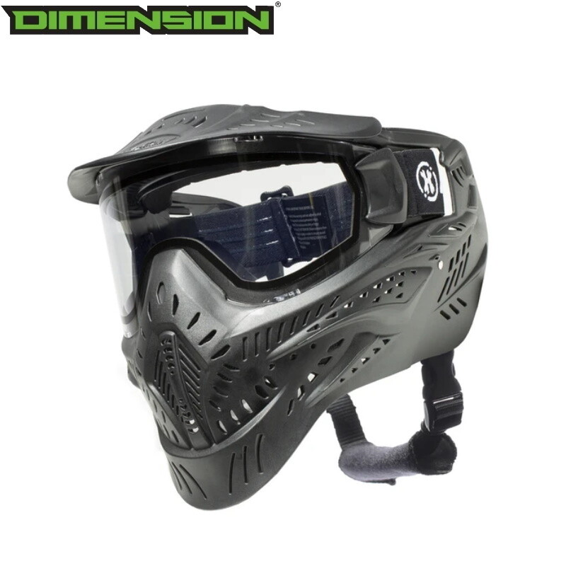 HK Army HSTL Goggle - Black - Thermal Clear