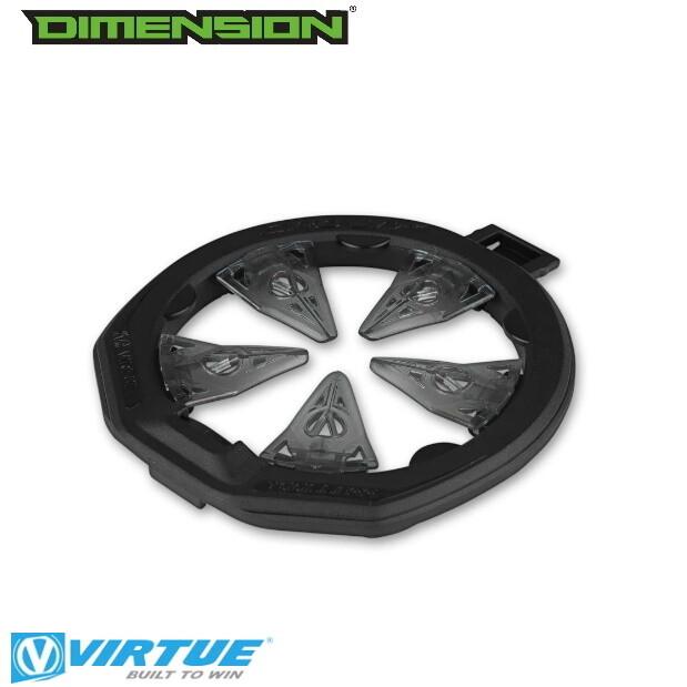 Virtue CrownSF II Speed Feed - Spire III/IV/IR/280/ CTRL - Black