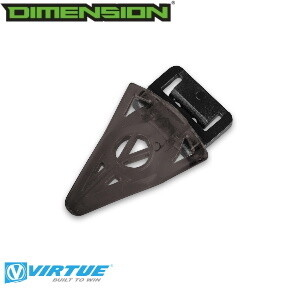 Virtue Crown SF II Replacement Finger - Black