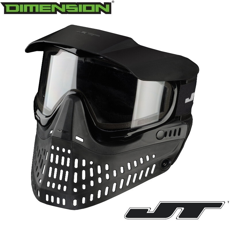 JT Spectra Proshield Thermal Goggle - Black - Thermal Clear Lens
