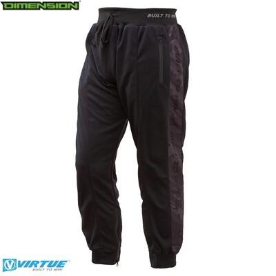 Virtue Jogger Pants - Built To Win - Graphic Black - XL