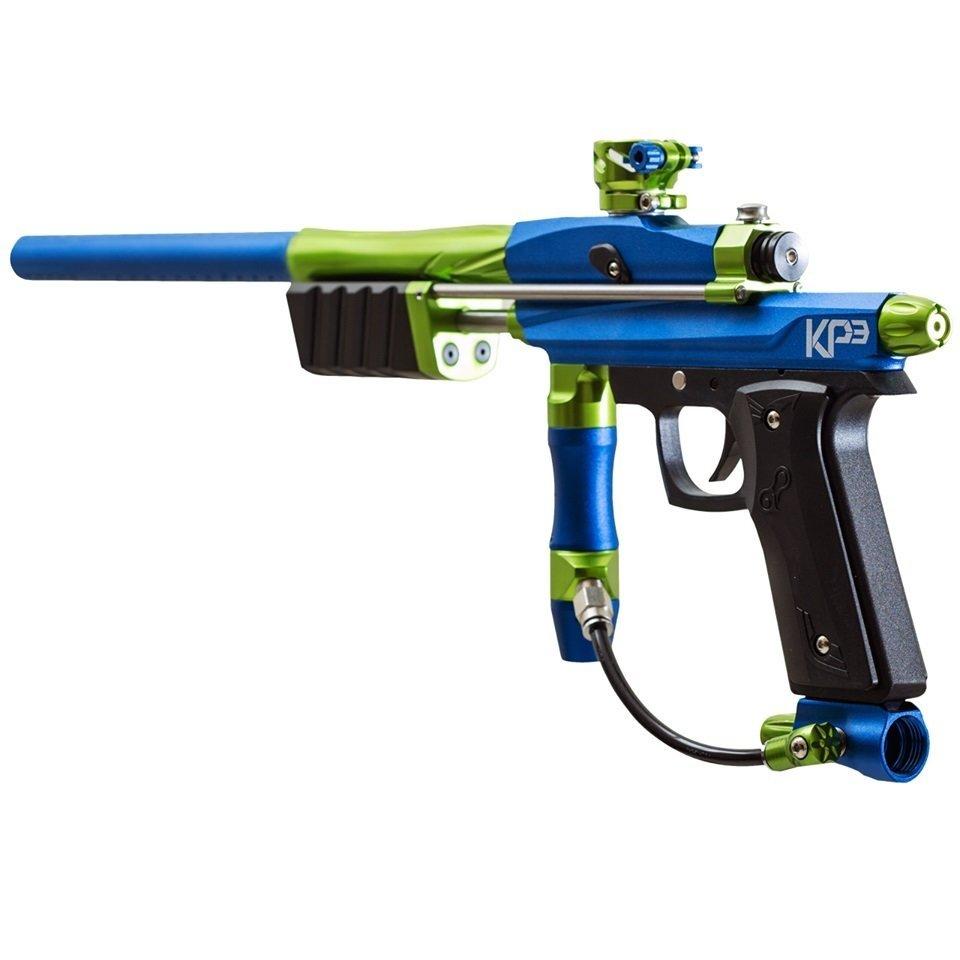 Azodin KP3.5 Kaos Pump Paintball Gun - Blue/Green