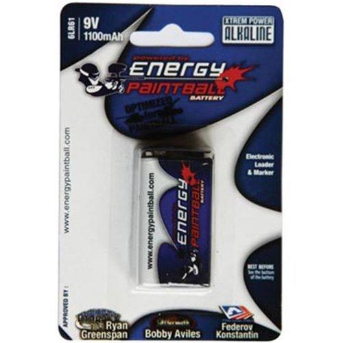 Energy Paintball - 9v Batteries (Single)