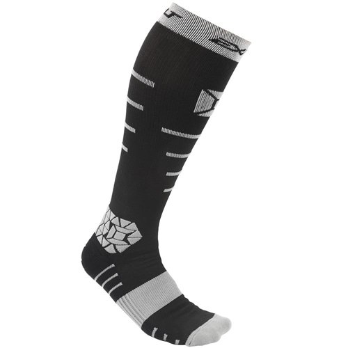 Exalt Compression Socks - Black/Grey - S/M