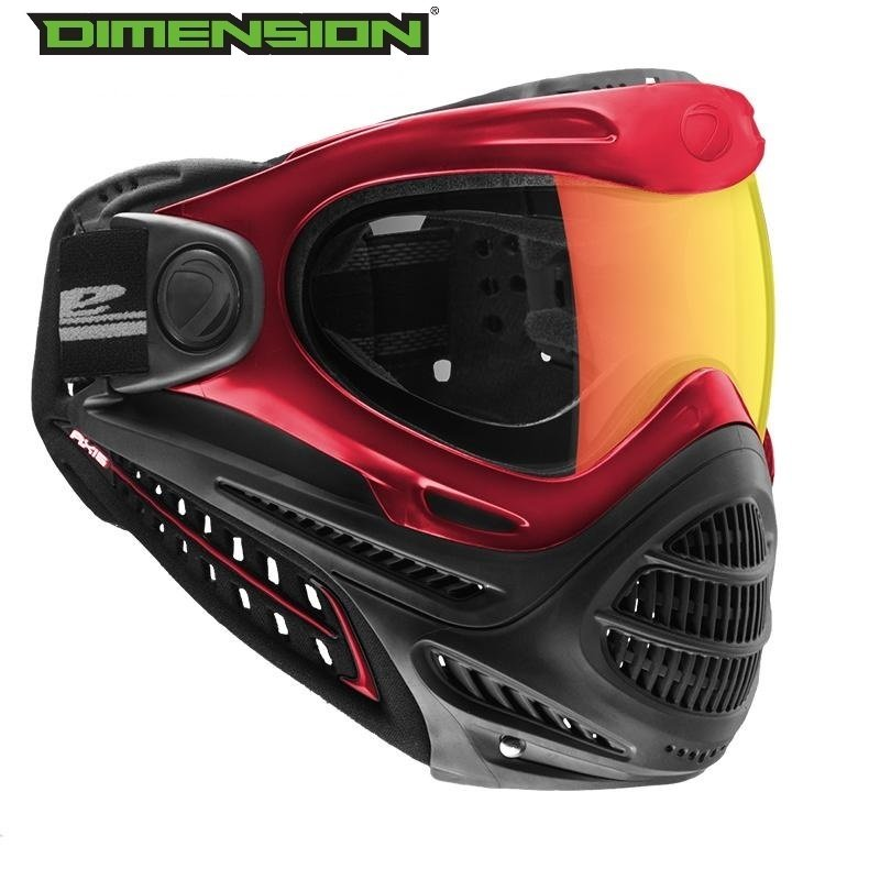 Dye Axis Pro Goggle - Red Bronze Fire