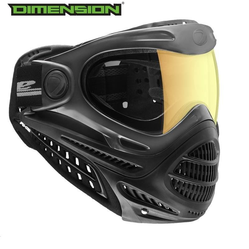 Dye Axis Pro Goggle - Black Faded Sunrise