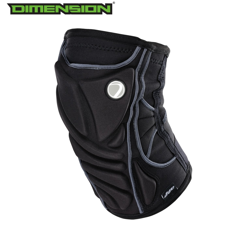 Dye Performance Knee Pads - Black - Small