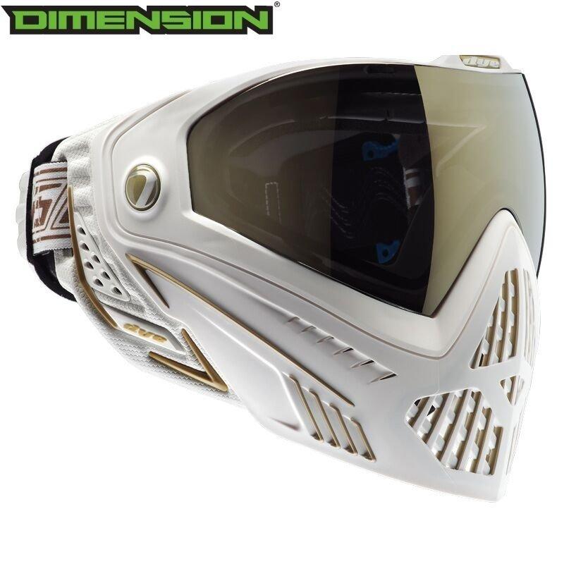 Dye I5 Goggle - White/Gold