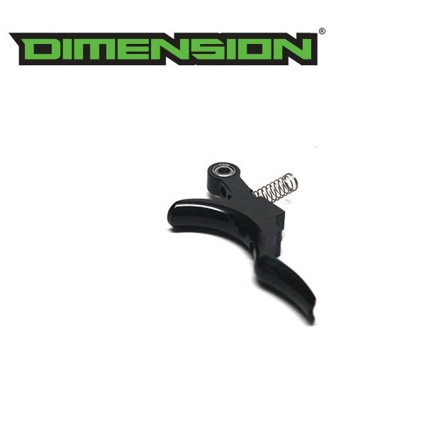 Field One / Bob Long Aluminum KO Trigger - Gloss Black