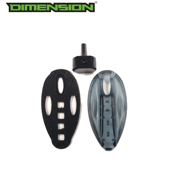 DLX Luxe 1.0, 1.5, 2.0 Button Cover Kit #LUX054( Factory Replacement Part )