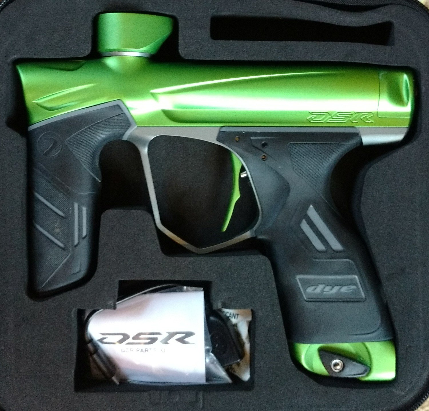 Used DSR Green Machine Marker - Lime/Gray