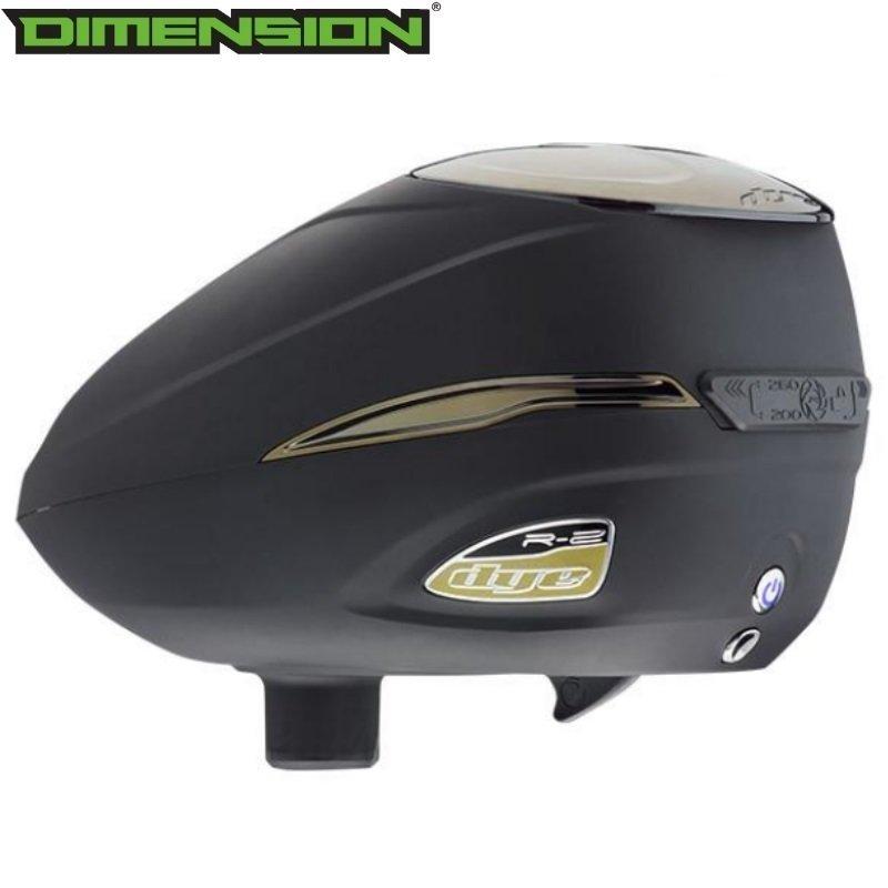 Dye Rotor R2 - Black/Gold