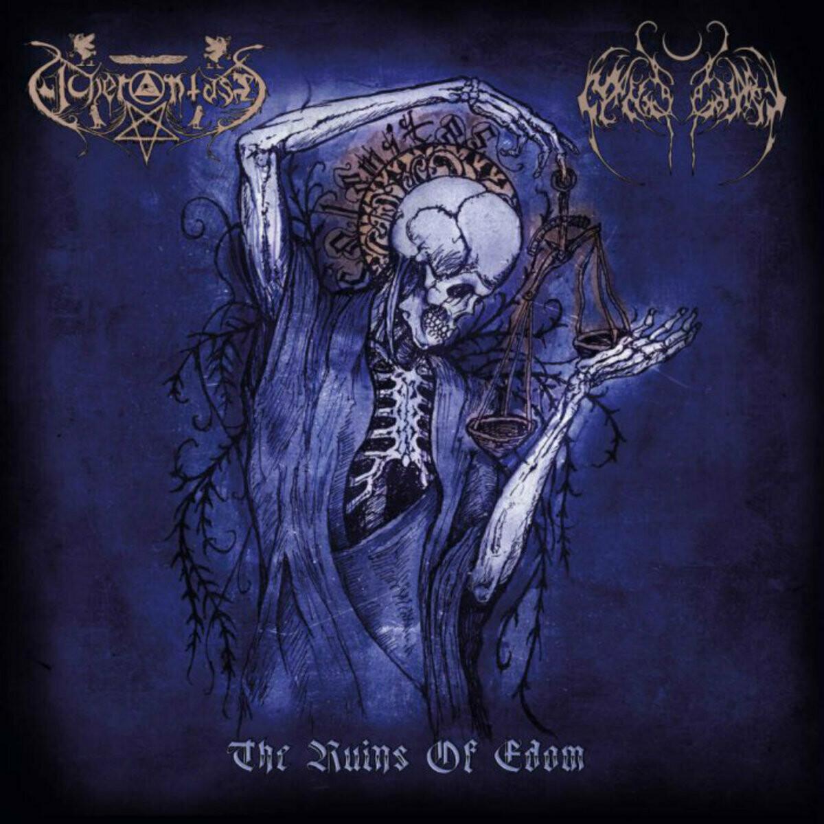 """Acherontas/Nightbringer (Split Release) """"The Ruins of Edom"""""""