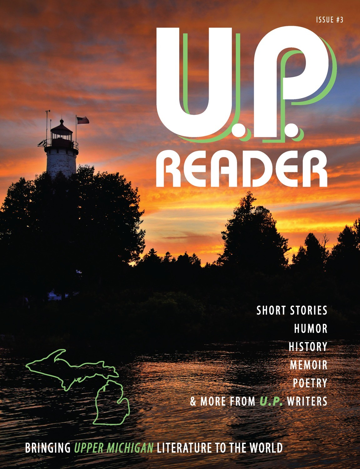 U.P. Reader -- Issue #3 [HC]