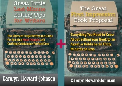 Editing Tips + Book Proposal