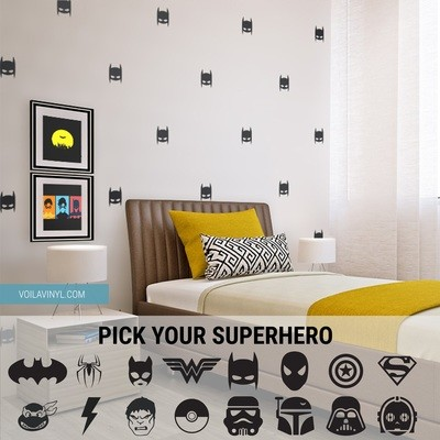 Superhero pattern